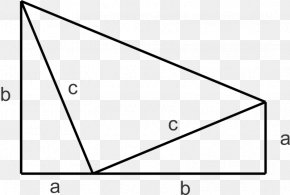 Triangle - Right Triangle Pythagorean Theorem Hypotenuse Mathematical Proof PNG