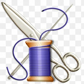Free Sewing Clipart - Sewing Needle Notions Clip Art PNG
