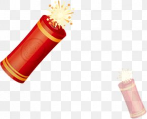 Chinese New Year - Firecracker Chinese New Year Fireworks PNG
