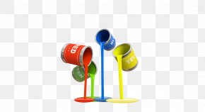 Painted Banners - Painting House Painter And Decorator Clip Art PNG