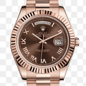 Rolex - Rolex Day-Date Watch Jewellery Colored Gold PNG
