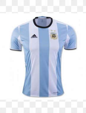 Soccer Jersey - Argentina National Football Team T-shirt 2015 Copa América Jersey 2018 FIFA World Cup PNG