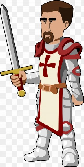 Knights Cliparts - Middle Ages Lord Knight Clip Art PNG