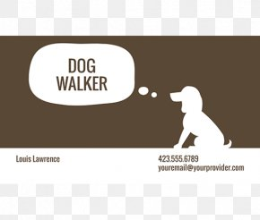 Business Card Template Download - Pet Sitting Dog Walking Dog Grooming Business Card Design Labrador Retriever PNG