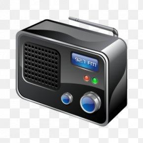 Radio - Internet Radio FM Broadcasting Antique Radio PNG