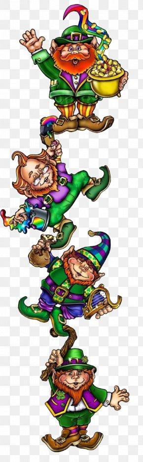Saint Patrick's Day - Leprechaun Traps Tattoo Saint Patrick's Day Four-leaf Clover PNG