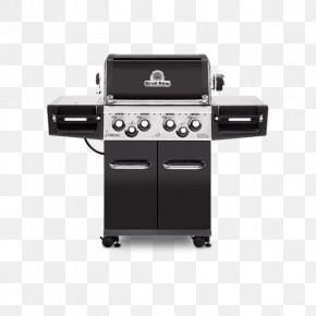 Barbecue - Barbecue Broil King Regal 490 Pro 4-Burner Propane Gas Grill With Rotisserie & Side Burner 956244 Grilling Cooking Broil King Regal S590 Pro PNG