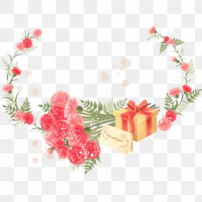 Thanksgiving Day Carnations - Flower Picture Frame Stock Photography Clip Art PNG