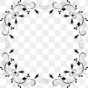 Flower - Borders And Frames Flower Paper Clip Art PNG