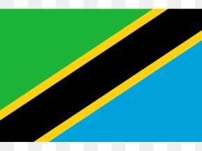 Flag - Flag Of Tanzania National Flag Swahili PNG