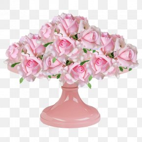 Pink Roses Bouquet - Garden Roses Beach Rose Floral Design Pink Flower Bouquet PNG