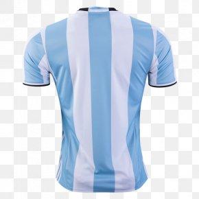 T-shirt - Argentina National Football Team 2018 FIFA World Cup 2014 FIFA World Cup T-shirt Jersey PNG