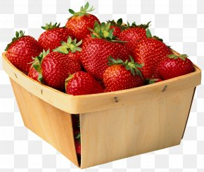 Strawberry - Strawberry Punnet Fruit Blueberry PNG