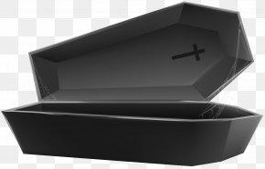 Open Coffin Black Transparent Clip Art Image - Box Rectangle Plumbing Fixture PNG