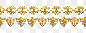 Vector Golden Flower Pattern - Flower Pattern PNG