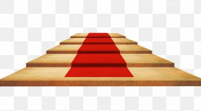 Red Carpet Stairs - Stairs Stair Carpet Floor PNG