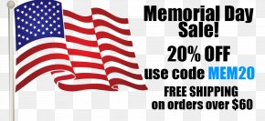 Memorial Day Sale - Flag Of The United States United States Flag Code Flag Of Ireland PNG