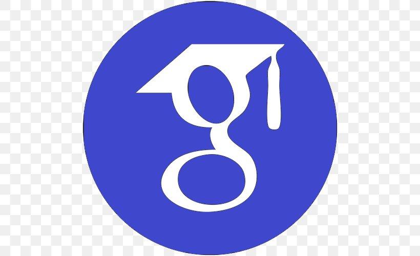 Google Scholar Academic Journal Google Logo Education, PNG, 500x500px, Google Scholar, Academic Journal, Area, Brand, Doctor Of Philosophy Download Free