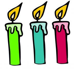 Cartoon Candle Cliparts - Birthday Cake Candle Clip Art PNG