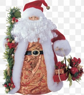Santa Claus - Ded Moroz New Year Snegurochka Christmas Holiday PNG