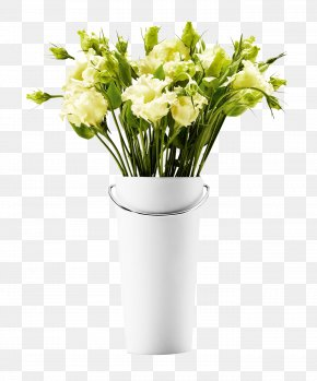 Vase And Flowers - Samsung Galaxy S8 Vase IPhone 8 White Ceramic PNG