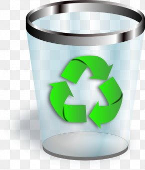 Trash Can - Recycling Bin Waste Container Paper PNG