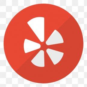 Social Media - Yelp Social Media Icon Design PNG
