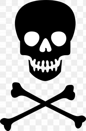 Skull And Crossbones Clipart - Hazard Symbol Skull And Crossbones Poison Clip Art PNG