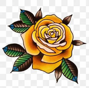Flower Tattoo Picture - Tattoo Rose Clip Art PNG