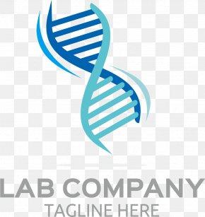 Blue DNA Molecular Markers - DNA Euclidean Vector Icon PNG