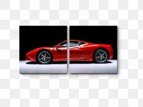 Sports Car - Sports Car Ferrari Electric Vehicle Toyota PNG