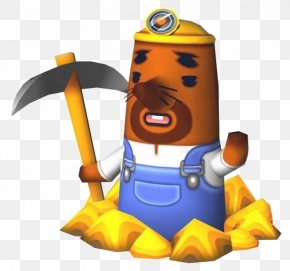 Animal Crossing - Animal Crossing: New Leaf Animal Crossing: City Folk Animal Crossing: Wild World Mr. Resetti PNG
