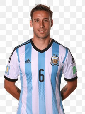 Football - Lucas Biglia 2014 FIFA World Cup 2018 World Cup Argentina National Football Team Jersey PNG
