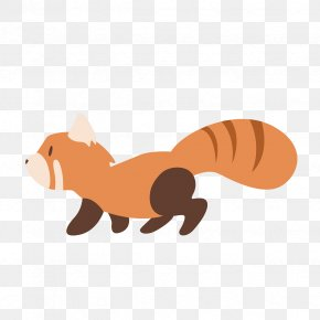 Toy Fox - Cartoon Animal Figure Squirrel Tail Clip Art PNG