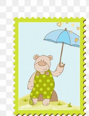 Cartoon Brown Bear - Brown Bear Illustration PNG