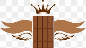 Brown Simple Chocolate Wings Decorative Pattern - Human Tooth Dentistry Mouth PNG