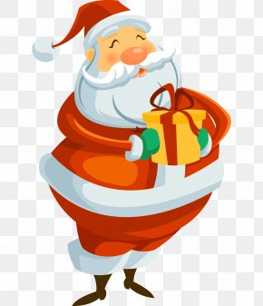 Santa Claus - Rudolph Santa Claus Christmas Clip Art PNG