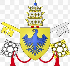 Vi - Vatican City Coat Of Arms Pope Papal Coats Of Arms House Of Medici PNG