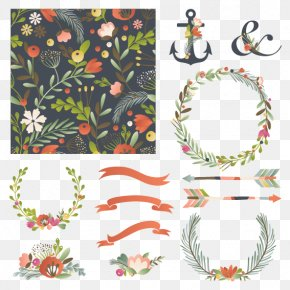 Flower Label Collection - Flower Drawing Clip Art PNG