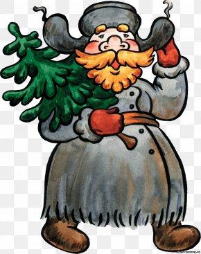 Santa Claus - Santa Claus Christmas New Year Tree Clip Art PNG