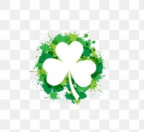 Clover - Shamrock Saint Patricks Day Clip Art PNG