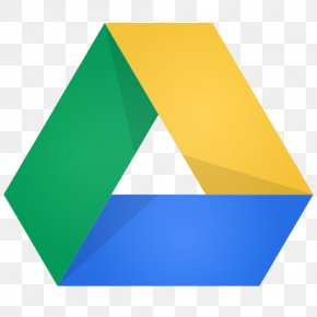 Google Drive - Triangle Yellow Green PNG