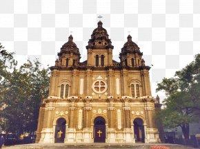 European Church - Wangfujing Forbidden City Saint Sophia Cathedral, Harbin Notre-Dame De Paris Changqiao PNG