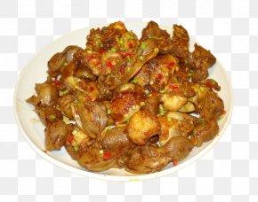 Pig Bone Fried Chicken Gizzards - Fried Chicken Domestic Pig Roast Chicken Gizzard PNG