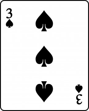 Spades - Playing Card Ace Of Spades Standard 52-card Deck Suit PNG