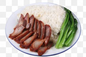 Bacon Meal - Roast Beef Full Breakfast Char Siu Food PNG