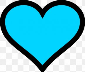 Teal Heart Cliparts - Turquoise Heart Emoji Blue Clip Art PNG
