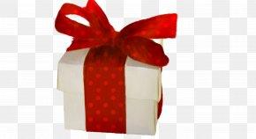 Christmas Ribbon Gift Box - Christmas Decoration Gift PNG