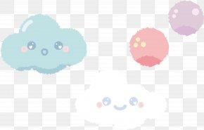 Cute Cartoon Clouds - Cloud Computing Cartoon PNG