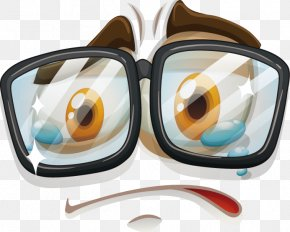 Vector Creative Design Sad Face Icon - Facial Expression Adobe Illustrator Illustration PNG
